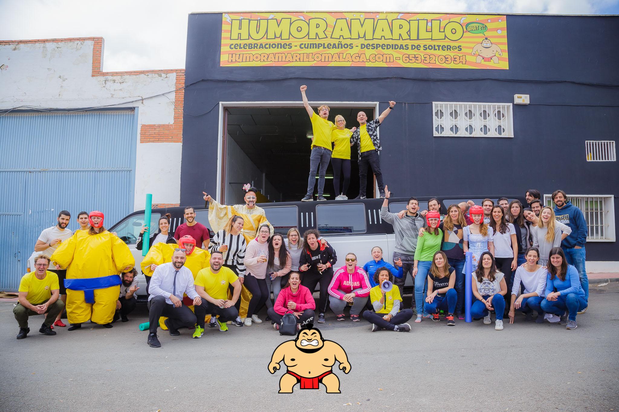 Humor amarillo Malaga